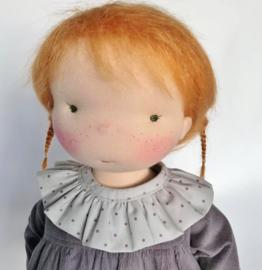 Sacha - a 16''/42 cm tall Handmade Waldorf Doll