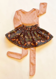 "Clothing set - Liberty skirt - for 16""/42 cm tall doll"
