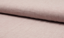 Lightweight, yarn dyed 100% Linen -  Old Dusty Pink