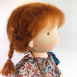 Cleo - a 16''/42 cm tall Handmade Waldorf Doll