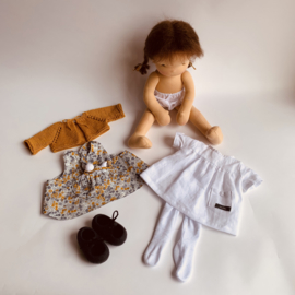 "Clothing set Mio - for 16""/42 cm tall doll"