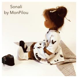 Sonali - a 14''/36 cm tall Handmade Waldorf Doll