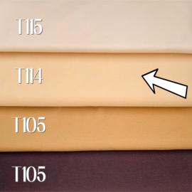 Poppen tricot/interlock - zonnig licht - 25 cm. - De Witte Engel