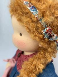 Lori - a 16''/42 cm tall Handmade Waldorf Doll