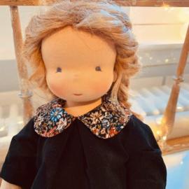 Jildou - a 14''/35 cm tall Handmade Waldorf Doll