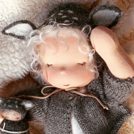 Petite Bébé, 30 cm tall - Deer Doll