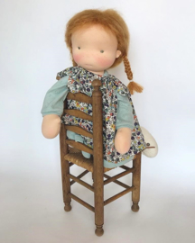 True - a 16''/42 cm tall Handmade Waldorf Doll