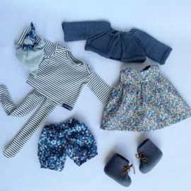 """Clothingset Lux - for 16""""/42 cm tall doll"""