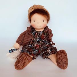 Phedra - a 12''/35 cm tall Handmade Waldorf Doll