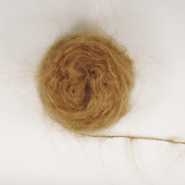 Wild Brushable Mohair (steil) - Light Brown