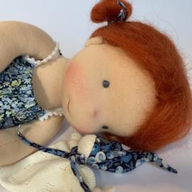 Merida - a 14''/35 cm tall Handmade Waldorf Doll