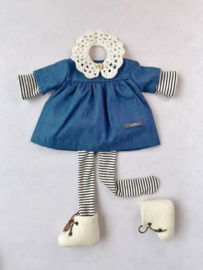 "Clothingset Lori - for 16""/42 cm tall doll"