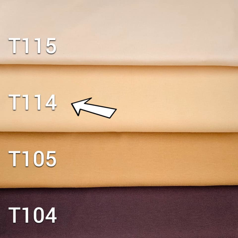 Doll tricot/interloc - Sun kissed - 25 cm - De Witte Engel