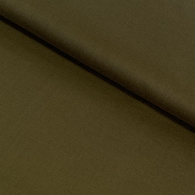 Organic Cotton Voile - Olive