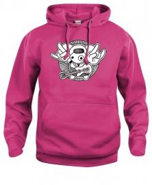 Hooded sweater uni - leuntje rock