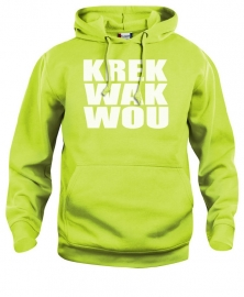 hooded sweater kids - krekwakwou
