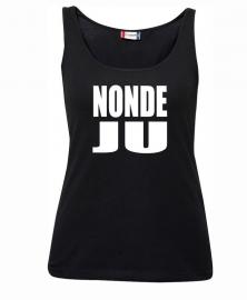 Tanktop dames - nondeju