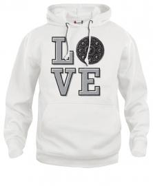 Hooded sweater uni - love