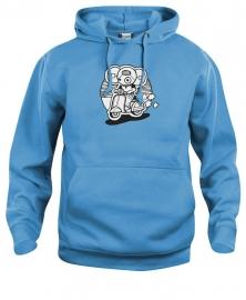 Hooded sweater uni - leuntje vespa