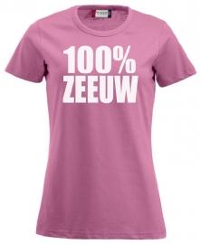 Damesshirt - 100% zeeuw glitter