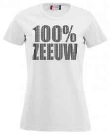 Damesshirt - 100% zeeuw schortebont