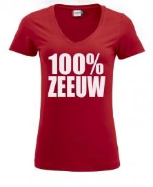 Damesshirt - 100% zeeuw