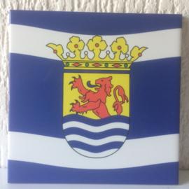 Tegel - Zeeuwse vlag