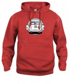 Hooded sweater uni - leuntje vw bus