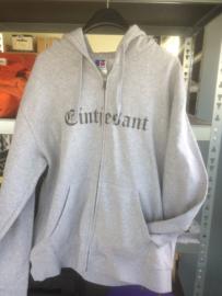 Hooded vest eintjesant- maat  3XL - merk Russel - licht grijs