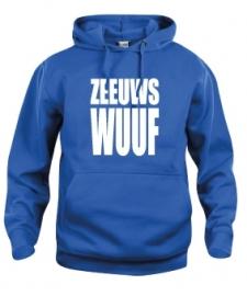 Hooded sweater uni - zeeuws wuuf