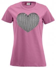 Damesshirt - schortebont hart