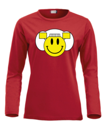 Dames longsleeve - smiley