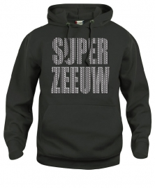 Hooded sweater uni - super zeeuw schortebont
