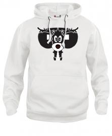 Hooded sweater uni - moose