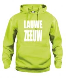 Hooded sweater uni - lauwe zeeuw
