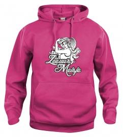 Hooded sweater uni - leuntje zeeuws meisje
