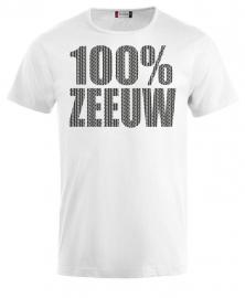 uni shirt - 100% zeeuw schortebont