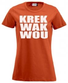 Dames shirt - krekwakwou