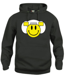 Hooded sweater uni - smiley