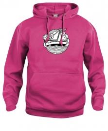 Hooded sweater uni - leuntje zeilboot