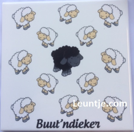 Sticker - buutndieker