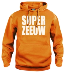 Hooded sweater uni - super zeeuw