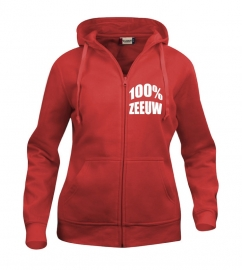 Hooded vest dames - 100% zeeuw
