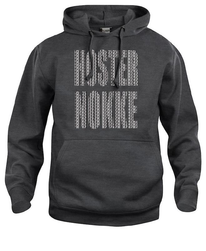 Hooded sweater uni - hosternokke schortebont