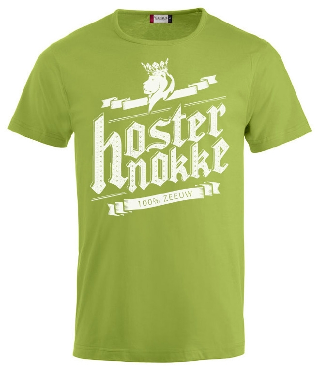 herenshirt - hosternokke 100%