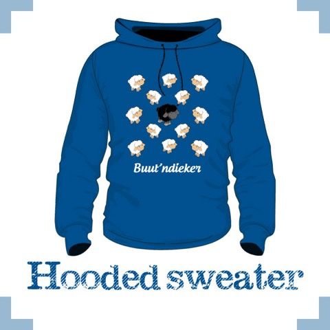 Hooded sweater uni - Buutndieker