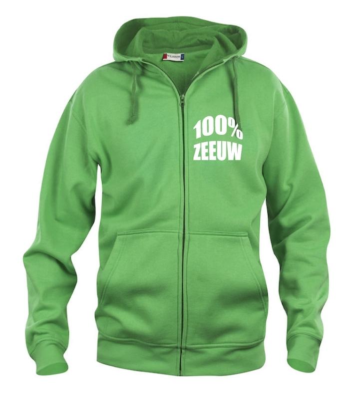Hooded vest heren - 100% zeeuw