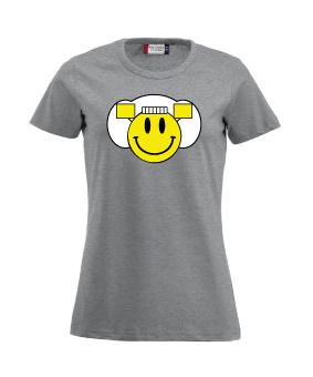 Damesshirt - smiley
