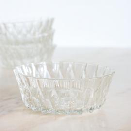 Vintage schaaltje glas