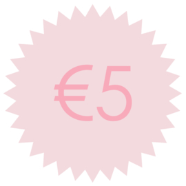 Giftcard €5,-